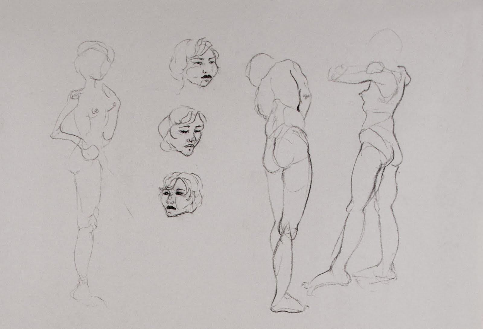 Kristina Rose Runyan: Figure Drawing 2010