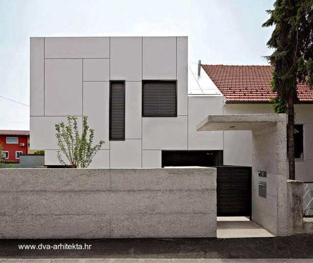 Casa urbana moderna en Croacia 2012
