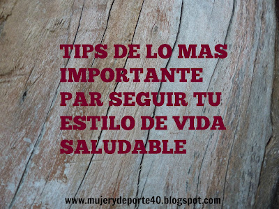 mujerydeporte40 tips