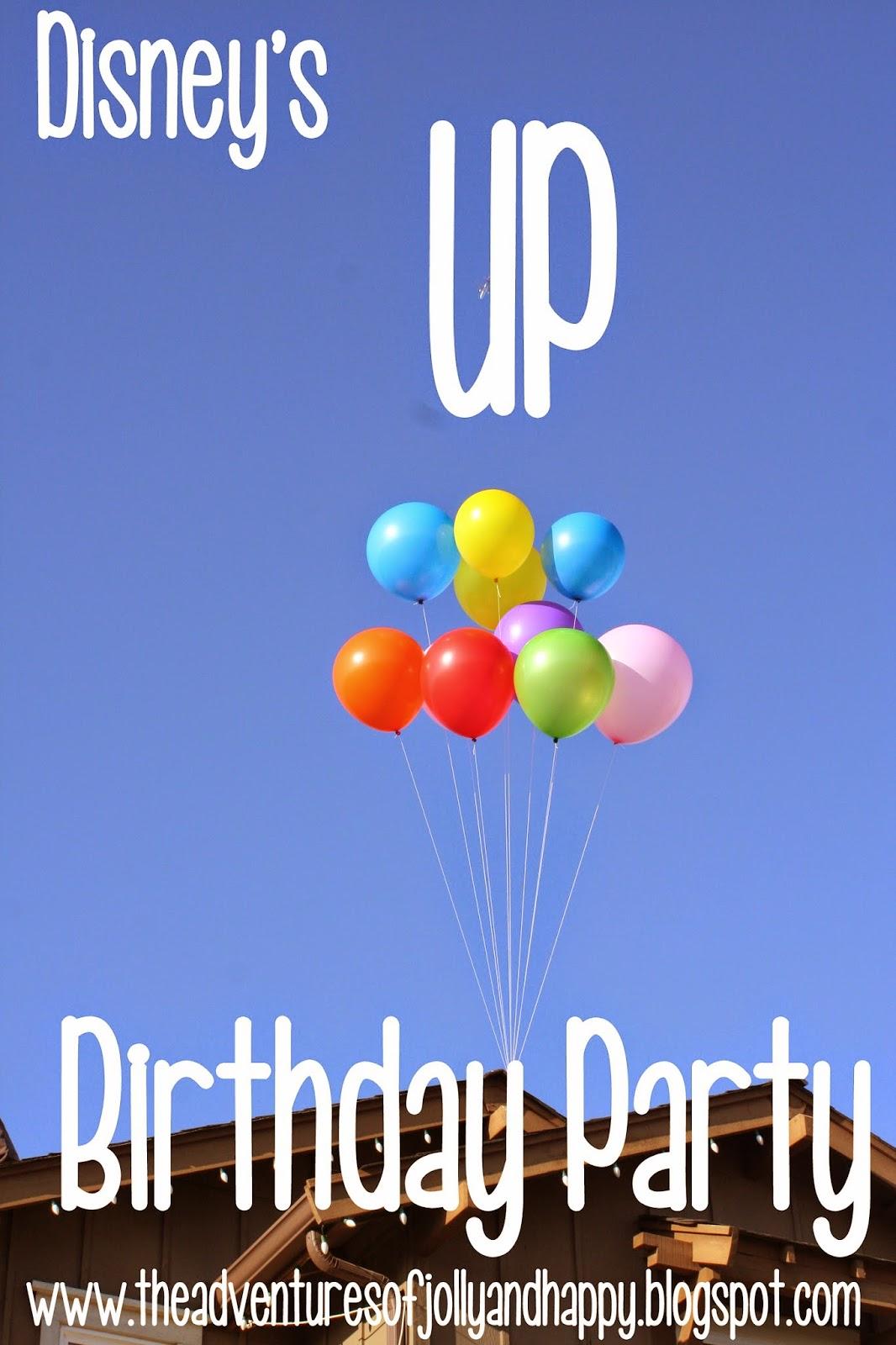 Disneys Up Birthday Party