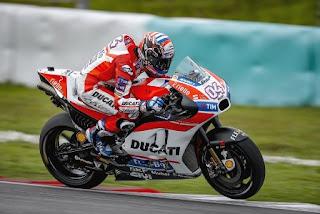 Dovizioso Tercepat Tes MotoGP 2017 Qatar, Rossi ke-7