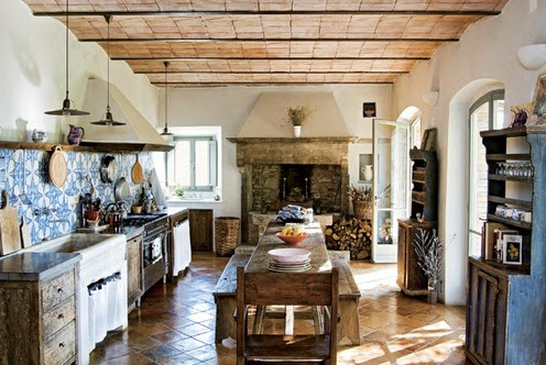 Cocinas Decoracion Y Diseno De Cocinas Decoracion Cocinas Rusticas - Cocinas-rusticas-modernas-fotos