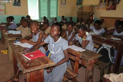 C2D projet d'éducation en Côte D'Ivoire