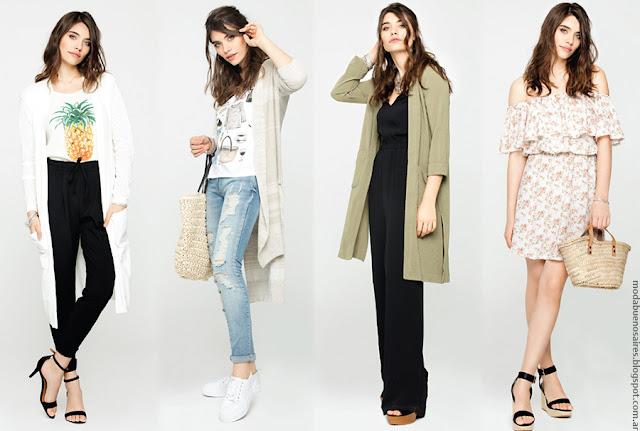Moda primavera verano 2017 ropa de mujer.