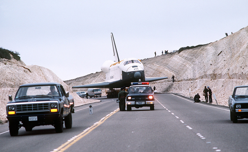 space shuttle landing at vandenberg - photo #14