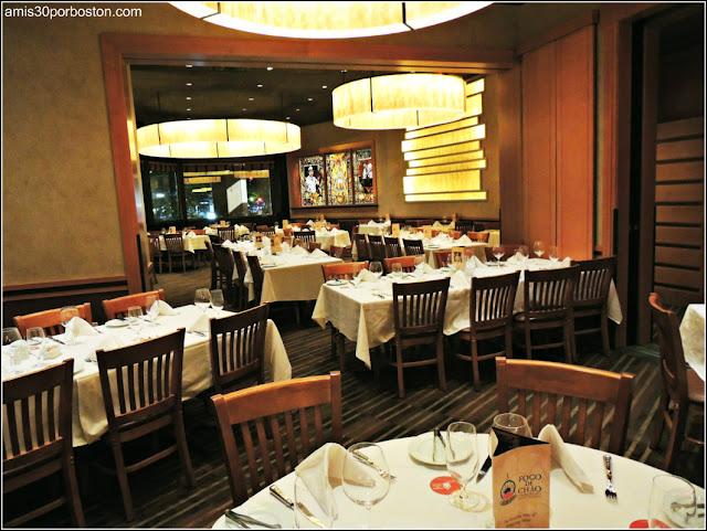 Comedor del Restaurante Fogo De Chao