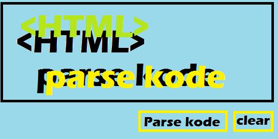Cara Membuat Form Parse Kode Html Diblog