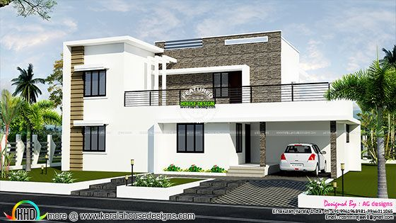 contemporary mix 1800 sq-ft house