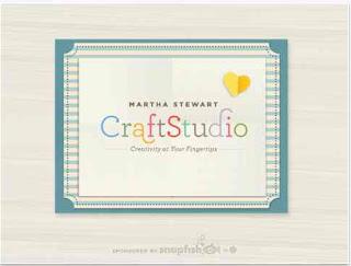 Free Martha Stewart CraftStudio app from Snapfish!