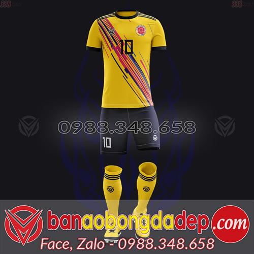 Áo Đội Tuyển Đặt May Theo Yêu Cầu - Mã COLOMBIA-03