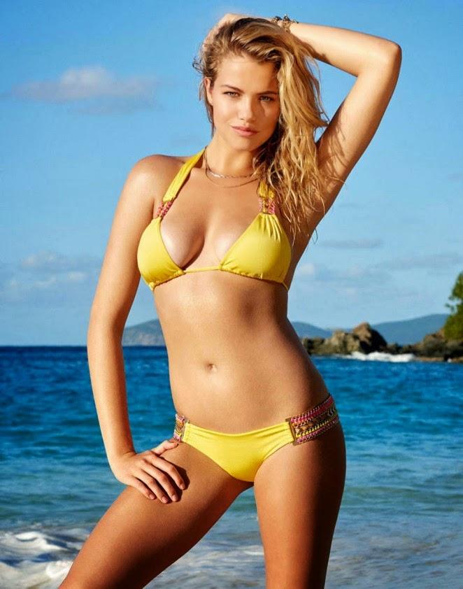 Hailey Clauson Is Sexy For The Beach Bunny Bikinis Spring