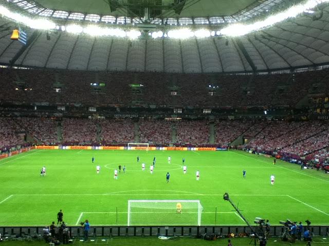 Greece v Poland, Euro 2012
