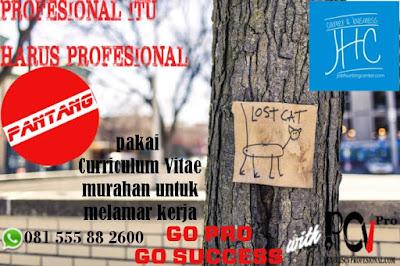 Jasa Pembuatan Curriculum Vitae ProfesionalJasa Pembuatan Curriculum Vitae Profesional