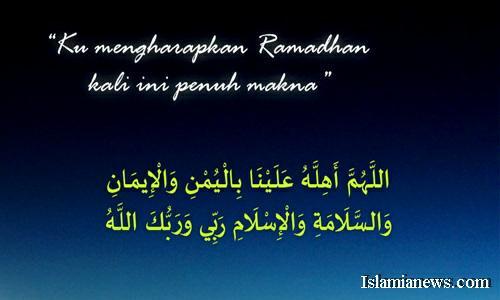 Bacaan Doa Menyambut Bulan Suci Ramadhan Sesuai Sunnah Dan Artinya