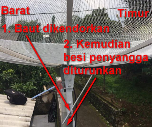 Cara Merubah Lnb Telkom 1 ke Telkom 3S