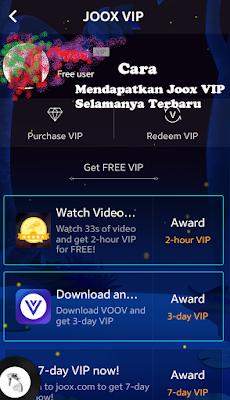 gratis joox Vip