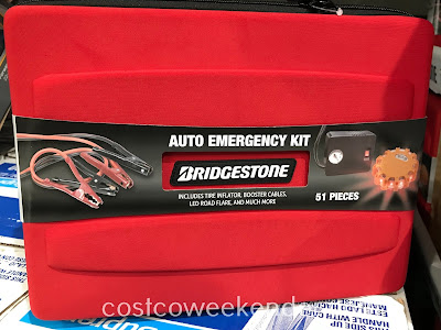 Be prepared in case of car trouble or being stranded with the Bridgestone Emergency Kit