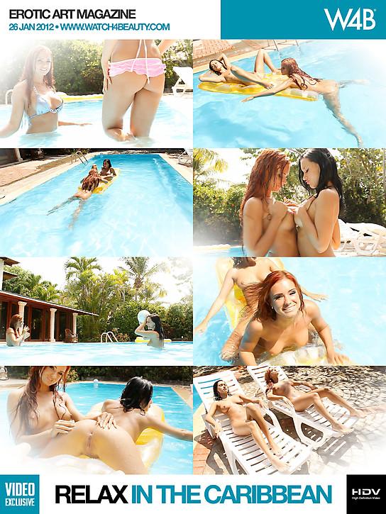 W22B1-26 Ashley Bulgari & Angelica Kitten - Relax In The Caribbeant (HD Video) 03060
