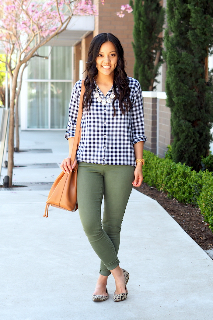 a5ca0b6ffd21 Navy Gingham for Spring + 50% off J.Crew Factory Roundup | Putting ...