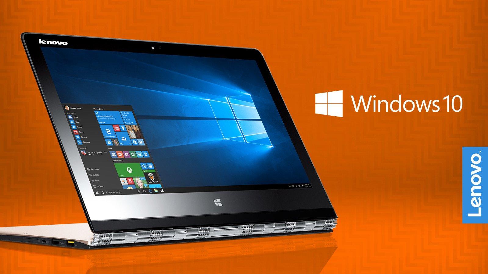 Lenovo Windows 10 Upgrade