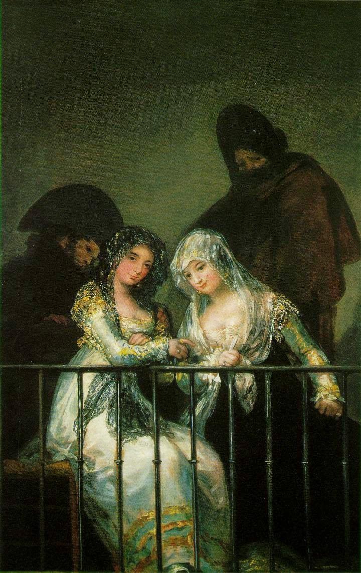 Grupo em uma Varada - Goya, Francisco e suas pinturas ~ Foi um importante pintor espanhol da fase do Romantismo