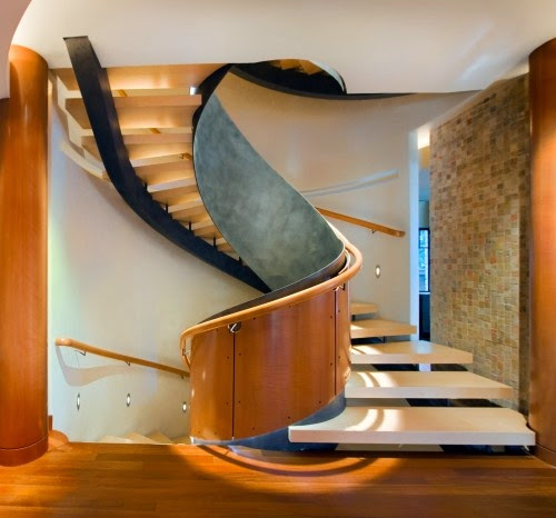 Stairs Designs: spiral staircases, designs, ideas and dimensions