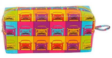Nécessaires criativas Carros Pop Art presentes Gorila Clube