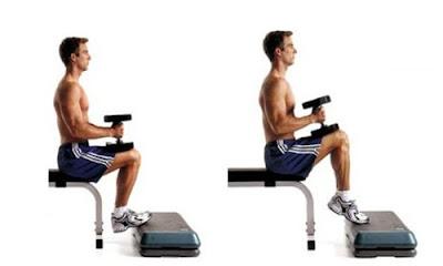 tập tạ tay cho cơ chân
