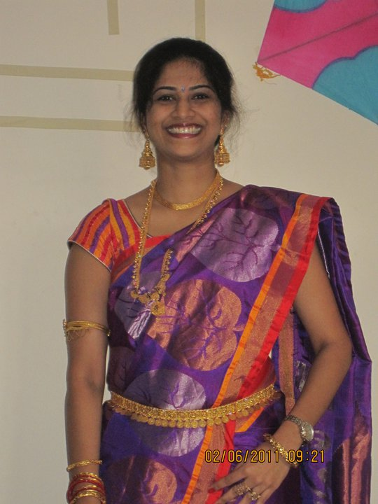 Chennai Aunty Komala Hot Photoshoot-9562