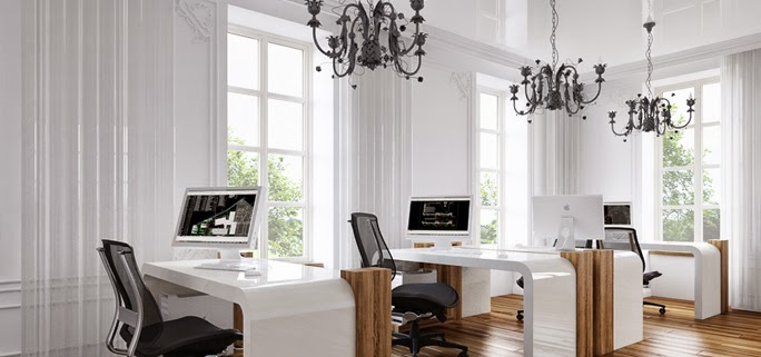 dekorator amator: Urządziłam małe biuro