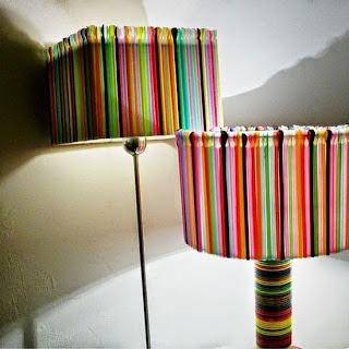 lampu dari sedotan