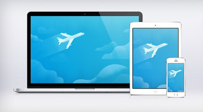 Travel With Plane and Responsive Check