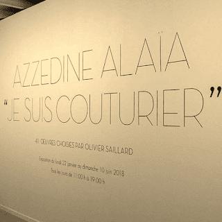 Azzedine Alaïa Je suis couturier expo Parigi spose & stile fashion bridal blog