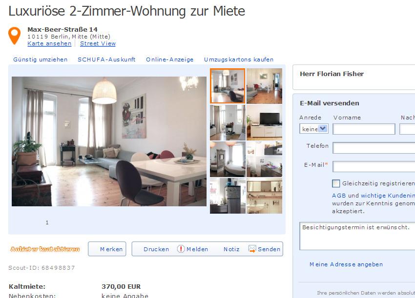 wohnungsbetrug2013  Informationen ber Wohnungsbetrug