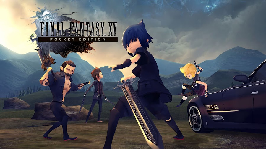 final fantasy xv pocket edition hd square enix