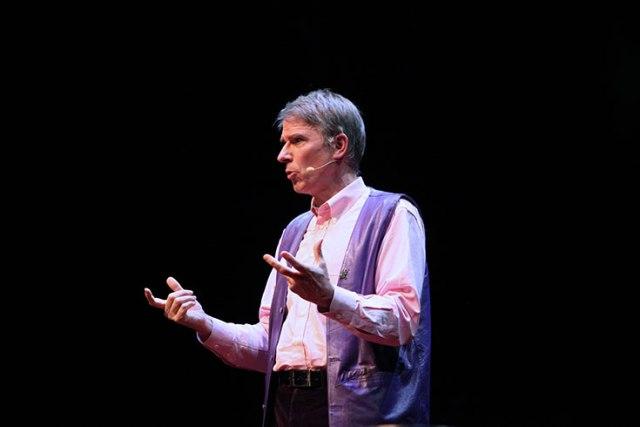 Christof Koch speaking at TEDxRainier Seattle