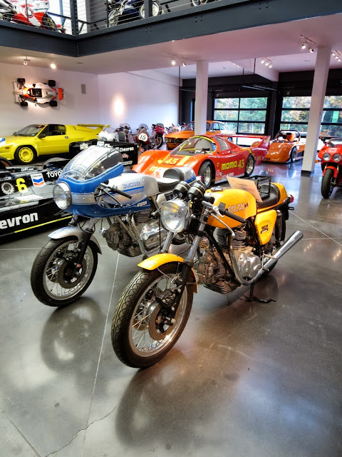 Dream Garage Ducatis