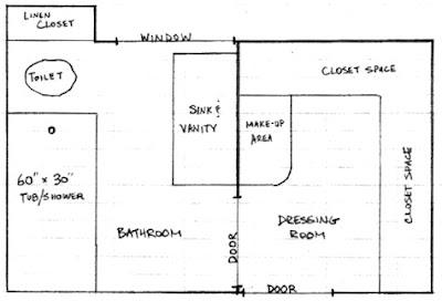 Planos gratis de cuartos de ba o ba os y muebles - Planos de cuartos de bano ...