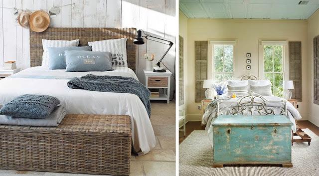 La fabrique d co utile et d co focus sur la tendance du bout de lit for Decoration chambre adulte bord de mer