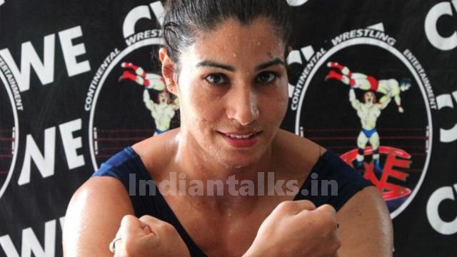 Kavita Devi is The First Indian Female To Appear In WWE