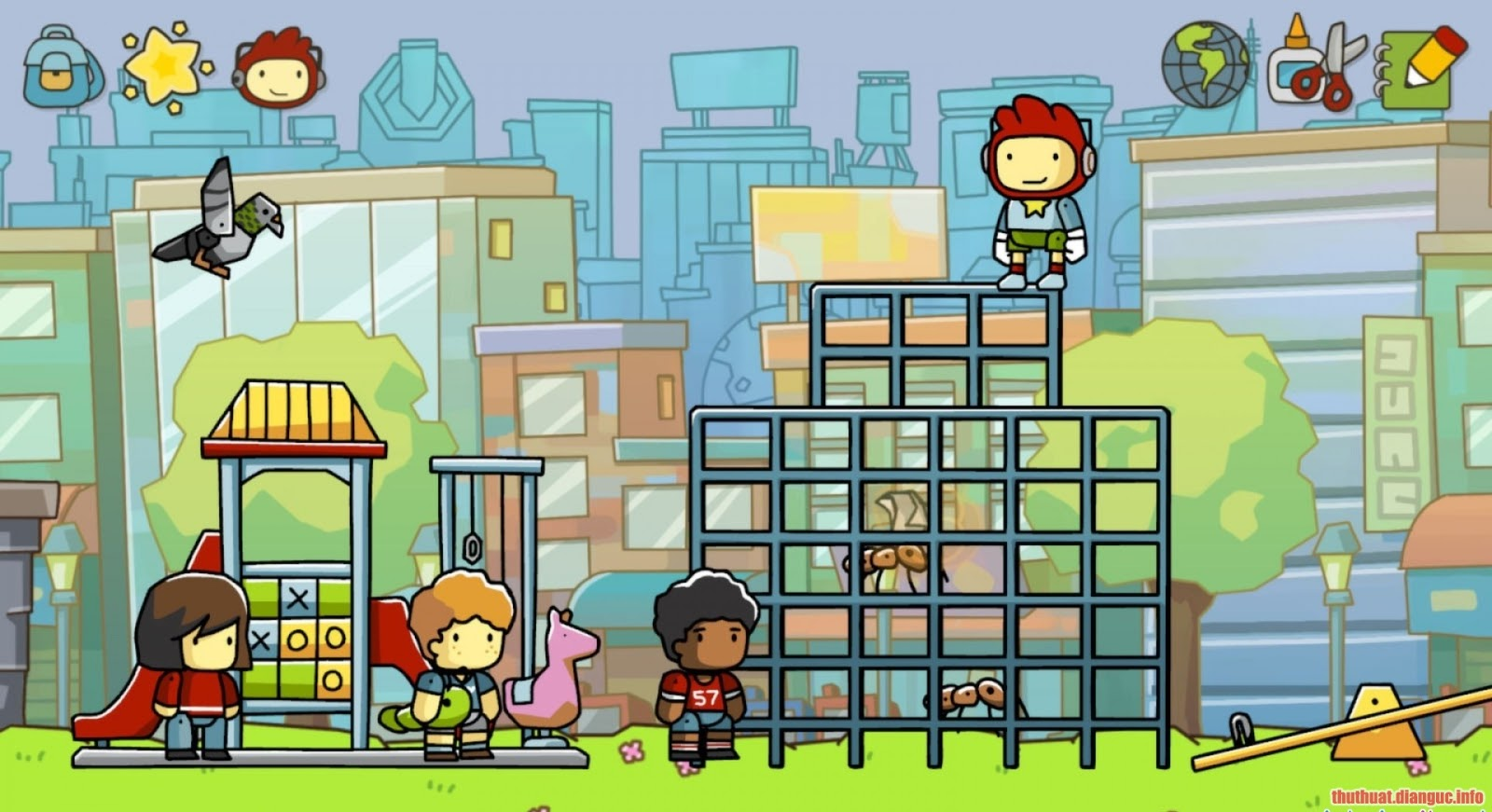 Game Scribblenauts Unlimited full free download