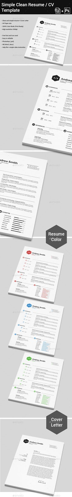 new graphic template logo designs simple clean resume cover letter