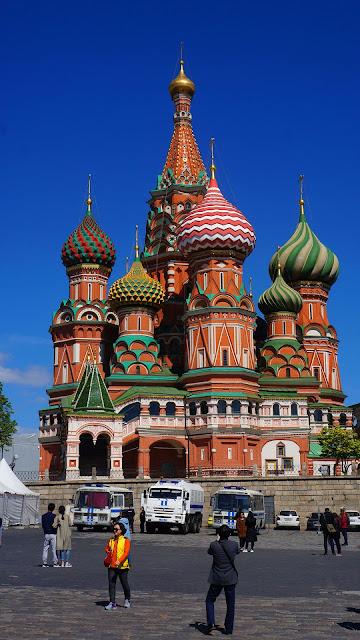 Фото Храма Василия Блаженного с южной стороны
