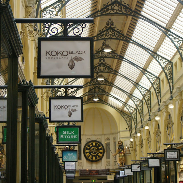 Koko Black in Royal Arcade