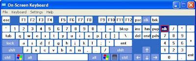 Menampilkan Keyboard Di Layar