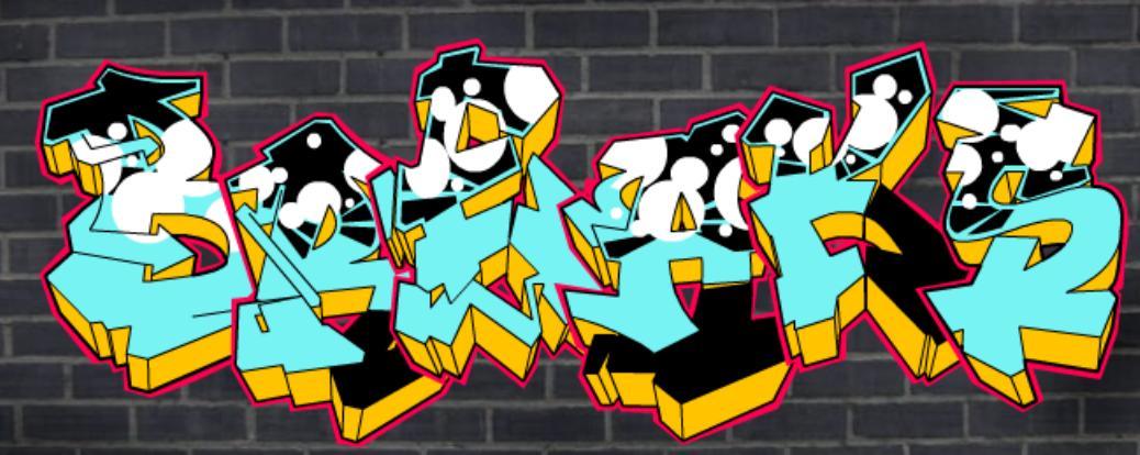 how to write a graffiti tag creator