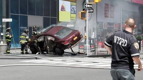 One killed, 22 injured by speeding car in New York's Times Square