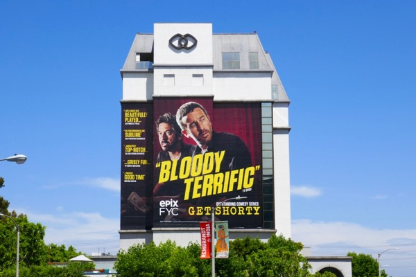 Giant Get Shorty Bloody Terrific Emmy FYC billboard