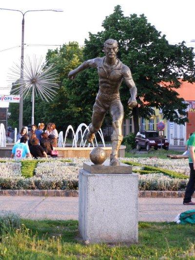 Statuia lui Iosif Petschovschi, Arad