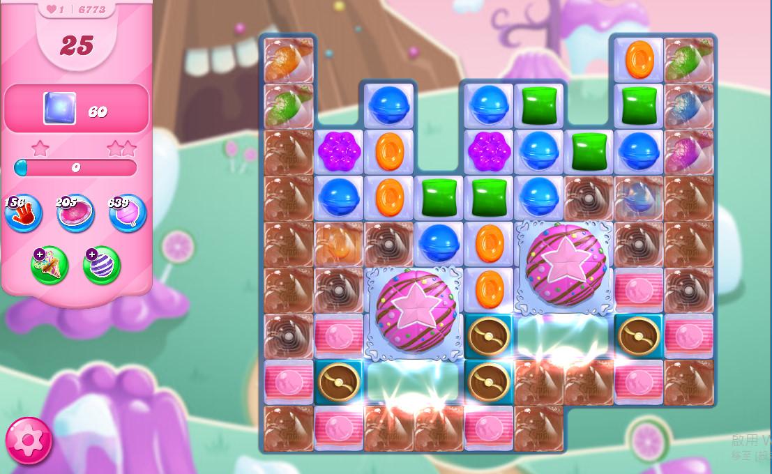 Candy Crush Saga level 6773